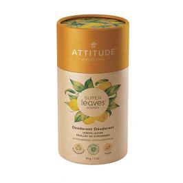 ATTITUDE Přírodní tuhý deodorant Super leaves  - citrusové listy 85 g