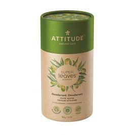 ATTITUDE Přírodní tuhý deodorant Super leaves  - olivové listy 85 g