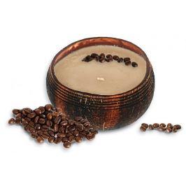 Tropikalia Svíčka z kokosu - vůně Coffee Mocha