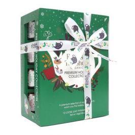 English Tea Shop Vánoční Zelená kolekce 12 pyramidek