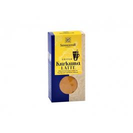 Sonnentor Bio Kurkuma Latte-zázvor 60 g krabička ( Pikantní kořeněná směs )