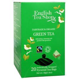 English Tea Shop Čistý zelený čaj 20 pyramidek