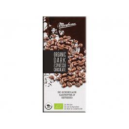 Meybona Bio Čokoláda hořká s kávovými zrny 52% 100g