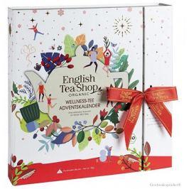 English Tea Shop Adventní kalendář wellness - kniha 25 pyramidek