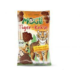 MOGLI Bio Mini sušenky tygr máslové s kakaem bez cukru 50g