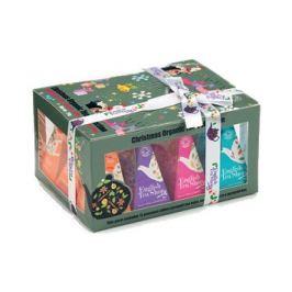 English Tea Shop Vánoční sada 12 pyramidových sáčků - Ozdoby Ozdoby