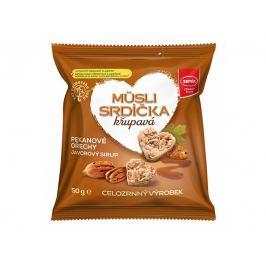 Semix Musli srdíčka s pekanovými ořechy a javorovým sirupem 50 g