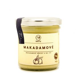 Natu Makadamové máslo 140 g