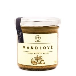 Natu Mandlové máslo pražené 140 g