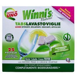 Winni´s Tabs Lavastoviglie tablety do myčky nádobí s vůní citrónu 25 ks