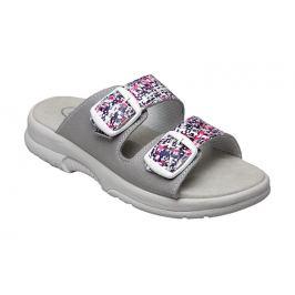 SANTÉ Zdravotní obuv dámská N/517/33/10M/19/BP grafiti-šedá 35