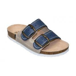 SANTÉ Zdravotní obuv dětská D/203/86/S12/BP modrá (vel. 31-35) 35