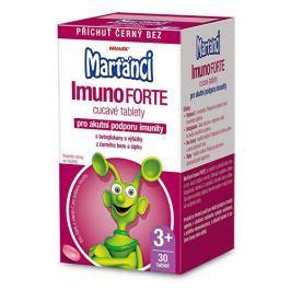 Walmark Marťánci ImunoForte příchuť černý bez 30 cucavých tbl.