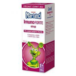 Walmark Marťánci ImunoForte sirup příchuť černý bez 150 ml