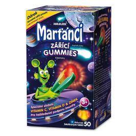 Walmark Marťánci zářící Gummies příchuť Mix 50 želatinových tbl.