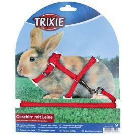 Trixie postroj Králík zakrslý nylon s vodítkem 8mm/1,20m
