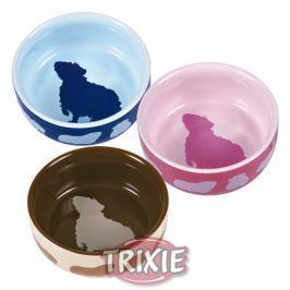 Miska (trixie) keramická pro morčata barevná 250ml/11cm