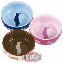 Miska (trixie) keramická pro králíky barevná 250 ml/11 cm