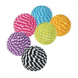 Trixie Provázkové míčky rúzné barvy 4,5 cm