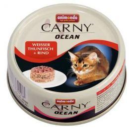 ANIMONDA cat konzerva CARNY OCEAN tuňák / hovězí maso 80g