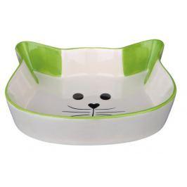 Trixie keramická miska kočičí hlava 0,25l (12cm) Hobby | Chovatelství | Pro kočky | Misky a zásobníky pro kočky