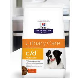 Hills Canine c/d (dieta) - 2kg