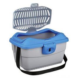 Transportní box CAPRI Mini 40x22x30cm - modrý Heureka.cz | Kultura a zábava | Volný čas | Chovatelské potřeby | Pro hlodavce | Ostatní potřeby pro hlodavce