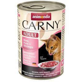 ANIMONDA cat konzerva CARNY krůta/krevety - 200g