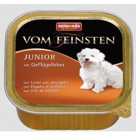 Animonda Vom Feinsten Junior drůbeží & srdíčka 150 g