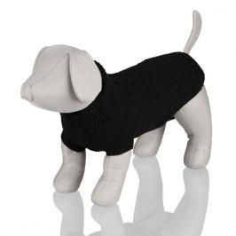 TRIXIE Černý svetr King of Dogs - 25cm (obvod 34cm)