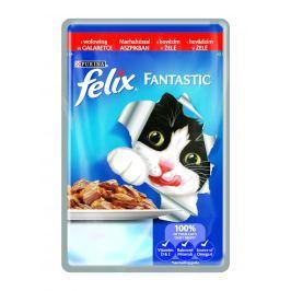 FELIX kapsa FANTAS. 100g - Kuře Krmivo a vitamíny pro kočky