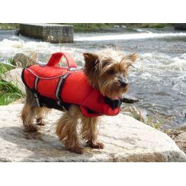 Plovací záchranná vesta pro psa - S (42-66/36cm/do 20kg)