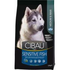 CIBAU SENSITIVE FISH/rice MEDIUM/MAXI - 12kg