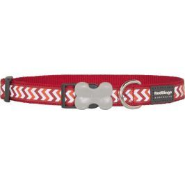 Obojek RD reflective ZIGGY/red - 1,2/20-32cm