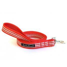 VODÍTKO RED gingham 1,2m - šířka 2cm