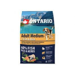ONTARIO dog ADULT MEDIUM fish - 2,25kg