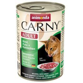 ANIMONDA cat konzerva CARNY HOVĚZÍ/krůta/králík - 200g