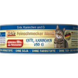 MACs cat konz. feinschmecker ENTE/KANINCHEN - 6x100g
