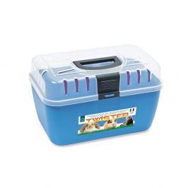 Transportní box ARGI horní otv. modrý - 29 x 19 x 18 cm