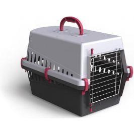 Transportní box ARGI kov mříž růžový - 50 x 33 x 32 cm