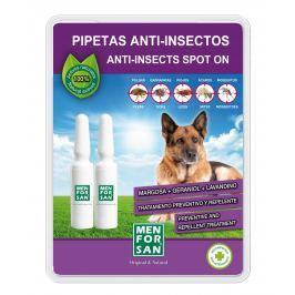 Menforsan Antiparazitní pipeta proti blechám a klíšťatům pro psy - 2 x 1,5 ml