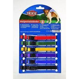 Trixie rozlišovací obojky pro štěňata 1cm/17-25cm / 6ks - červená, zelená, ...