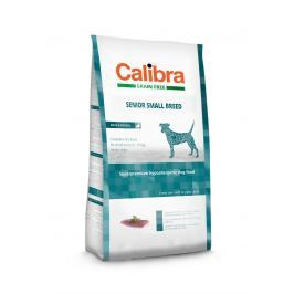 CALIBRA dog GF SENIOR small kachna - 7 kg