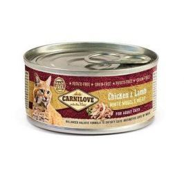 CARNILOVE cat konz. ADULT CHICKEN/lamb - 100g