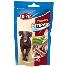 Trixie dog pochoutka PREMIO light STRIPES kuře/losos 75g