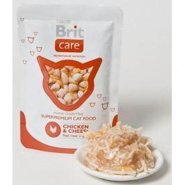 BRIT CARE cat kapsa 80g CHICKEN/cheese