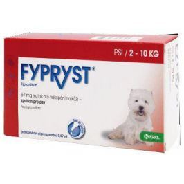 antipar. spot-on - (E) FYPRYST - S (2-10kg)