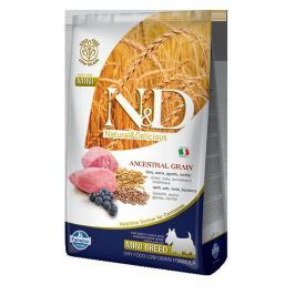 N&D dog LG ADULT MINI LAMB / BLUEBERRY - 800g