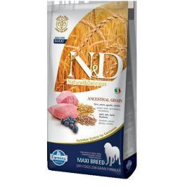 N&D dog LG ADULT MAXI LAMB / BLUEBERRY - 12kg
