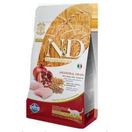 N&D cat LG NEUTERED CHICKEN / POMEGRANATE - 300g
